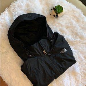 The North Face black Resolve Rain Jacket